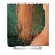 Aquarius... Shower Curtain by Nina Stavlund