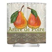 Arbre De Poire Shower Curtain by Debbie DeWitt
