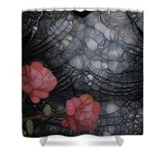 Armour And Rose 2 Shower Curtain by Jack Zulli