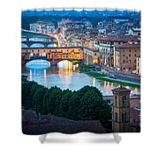 Arno Shower Curtain by Inge Johnsson