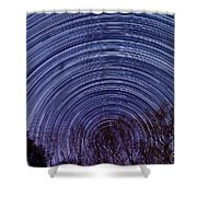 Arnold Startrails Shower Curtain by Benjamin Reed