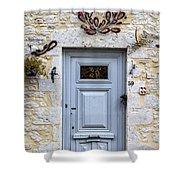 Artistic Door Shower Curtain by Georgia Fowler