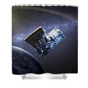 Artists Concept Of The Wide-field Shower Curtain by Stocktrek Images