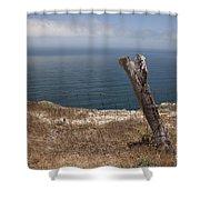 Artist's Retreat Shower Curtain by Amanda Barcon