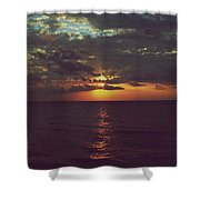 As Day Turns Into Night Shower Curtain by Laurie Search