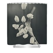 As I Emerge Shower Curtain by Laurie Search