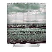 As My Heart Is Being Crushed Shower Curtain by Laurie Search