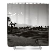As Shadows Spread Across The Land Shower Curtain by Laurie Search