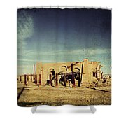 Ashes to Ashes Shower Curtain by Laurie Search