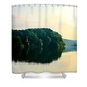 At Dawn  Shower Curtain by Debra Forand