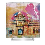 Atchison College Shower Curtain by Catf