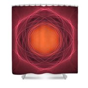 Atome-13 Shower Curtain by RochVanh