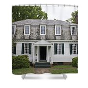 Augustine Moore House Yorktown Virginia Shower Curtain by Teresa Mucha