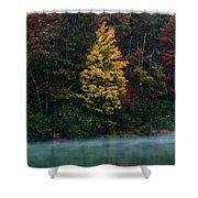 Autumn Splendor Shower Curtain by Shane Holsclaw