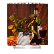 Autumn Still Life Shower Curtain by Amanda And Christopher Elwell