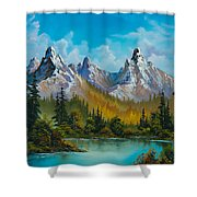 Autumn's Magnificence Shower Curtain by C Steele