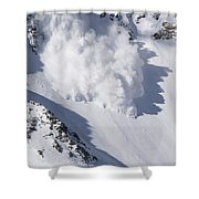 Avalanche IIi Shower Curtain by Bill Gallagher