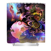 Aw 32 Shower Curtain by Claude McCoy