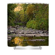 Away From It All Shower Curtain by Gregory Ballos