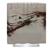Babylon Shower Curtain by Rachel Christine Nowicki