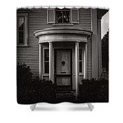 Back Home Bar Harbor Maine Shower Curtain by Edward Fielding
