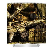 Back Home Shower Curtain by David Morefield