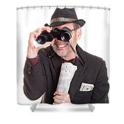 Bad Luck For Me And You Shower Curtain by Edward Fielding