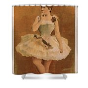 Ballet Shower Curtain by Aged Pixel