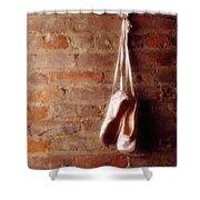 Ballet On Brick Shower Curtain by Jon Neidert