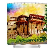 Baltit Fort Shower Curtain by Catf