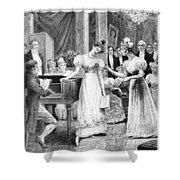 Balzac: A Woman Of Thirty Shower Curtain by Granger