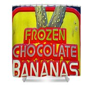 Bananas Shower Curtain by Skip Willits