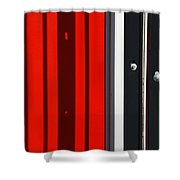 Bar Code Shower Curtain by Wendy Wilton
