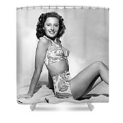 BARBARA STANWYCK Shower Curtain by Granger