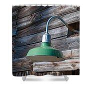 Barn Light Shower Curtain by Guy Whiteley
