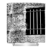 Barred Shower Curtain by Justin Woodhouse