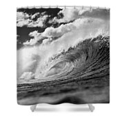 Barrel Clouds Shower Curtain by Sean Davey