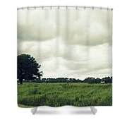 Bartow Highway Shower Curtain by Laurie Perry