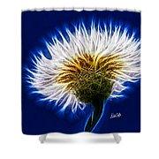 Basket Flower Inner Beauty Shower Curtain by Nikki Marie Smith