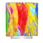 Bathing Beauties Shower Curtain by Kenny Francis