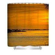 Bayport Dolphins Shower Curtain by Marvin Spates