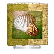 Beach Memoirs Shower Curtain by Lourry Legarde