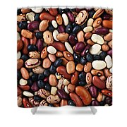 Beans Shower Curtain by Elena Elisseeva