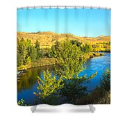 Beautiful Payette Shower Curtain by Robert Bales
