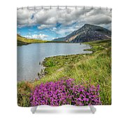 Beautiful Wales Shower Curtain by Adrian Evans
