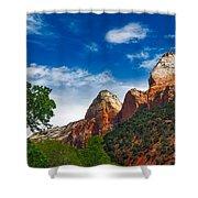 Beautiful Zion Shower Curtain by Robert Bales