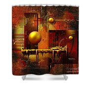 Beauty of an illusion Shower Curtain by Franziskus Pfleghart