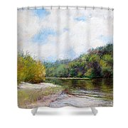 Beauty Of Nature  Shower Curtain by Nancy Stutes