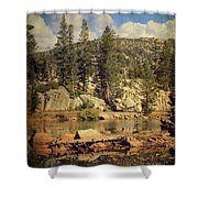 Beauty You Find Along the Way Shower Curtain by Laurie Search