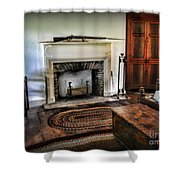 Bedroom - Colonial Style Shower Curtain by Paul Ward